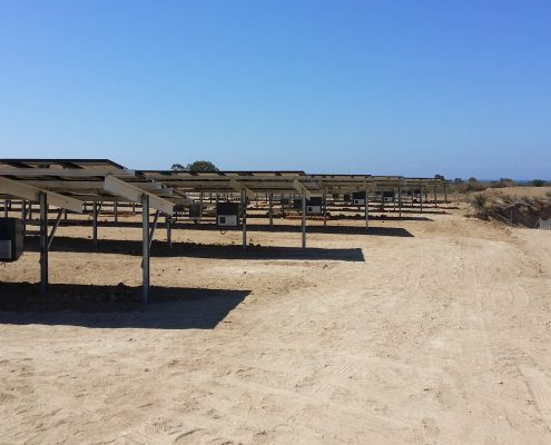 Εγκατάσταση φωτοβολταϊκού πάρκου ισχύος 99,9kWp
