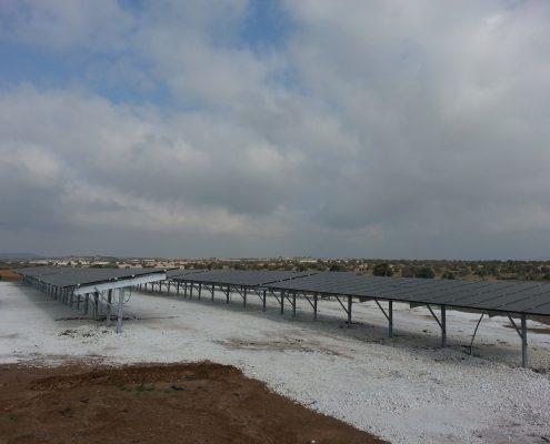 Εγκατάσταση φωτοβολταϊκού πάρκου ισχύος 100kWp