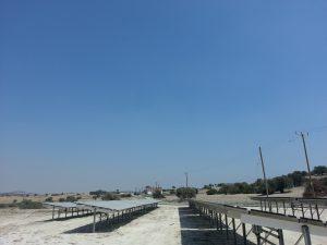Εγκατάσταση φωτοβολταϊκού πάρκου ισχύος 99kWp