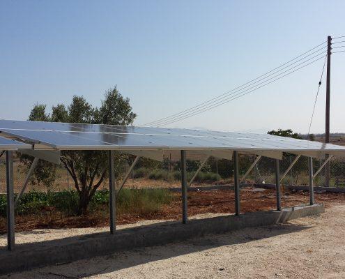 Εγκατάσταση 20kWp στη Λευκωσία