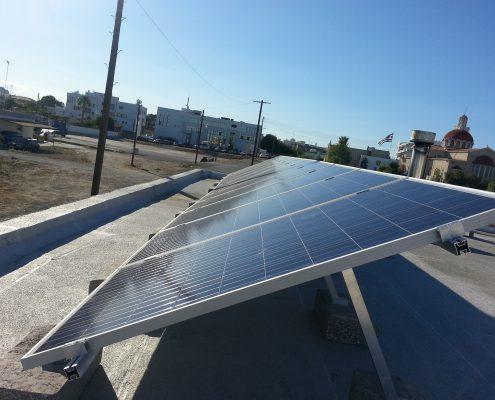 Εγκατάσταση NET-METERING σε επίπεδη οροφή στα Λατσιά