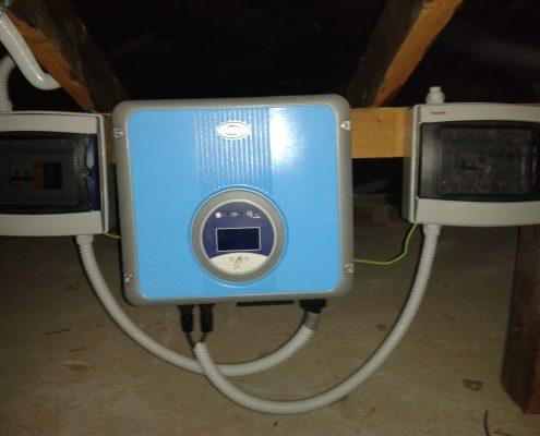 Εγκατάσταση NET-METERING σε κεκλιμένη οροφή στην Ορόλκινη