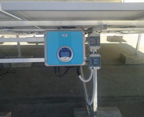 Εγκατάσταση NET-METERING σε επίπεδη οροφή στην Αγλαντζιά