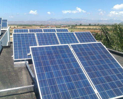 Εγκατάσταση 11,05kWp στην Περιστερώνα