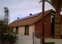 Εγκατάσταση NET-METERING σε κεκλιμένη οροφή στην Κάτω Δευτερά