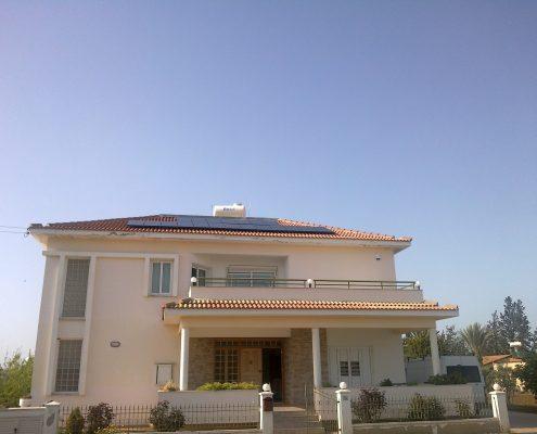 Εγκατάσταση NET-METERING σε κεκλιμένη οροφή στο Παλαιομέτοχο