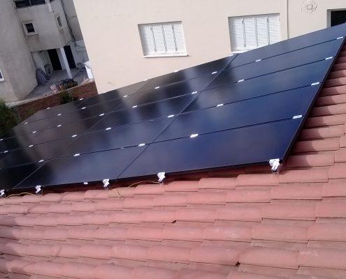 Εγκατάσταση NET-METERING σε κεκλιμένη οροφή στον Στρόβολο